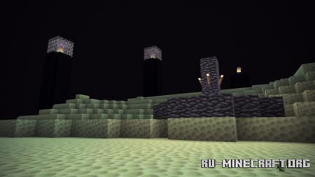 Скачать Depixel Bedrock Lite [32x32] для Minecraft PE 1.16
