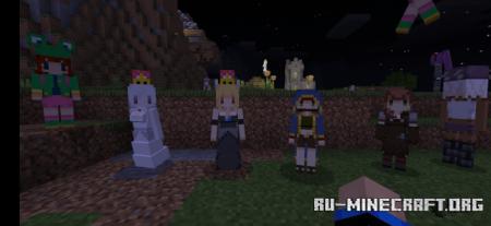 Скачать Cute Mob Model для Minecraft PE 1.16