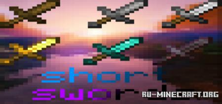Скачать Platapus Short Swords для Minecraft PE 1.16
