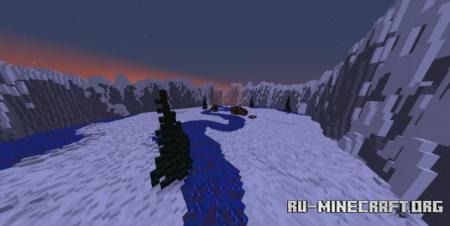 Скачать Snow PVP Map для Minecraft