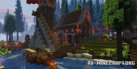 Скачать Tranquil Valley для Minecraft
