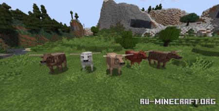Скачать Realistic Animals для Minecraft 1.16