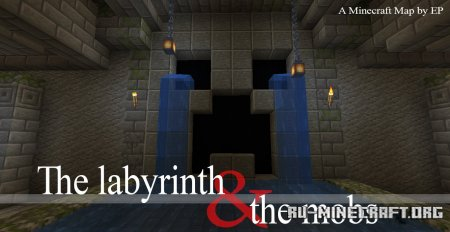 Скачать The Labyrinth and the Mobs для Minecraft