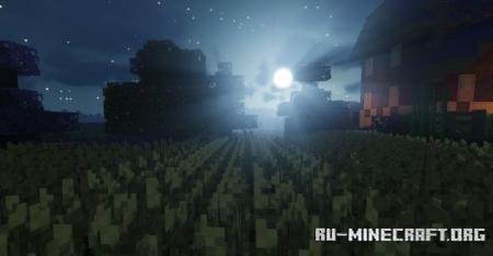 Скачать Halloween Wonder Eclipse [64x] для Minecraft 1.16