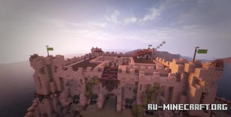 Скачать Fortress at Syracuse, Sicily для Minecraft