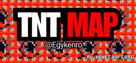 Скачать TNT Map Flat для Minecraft