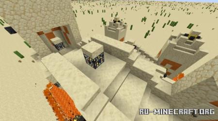 Скачать Desert Destroyer Temple для Minecraft