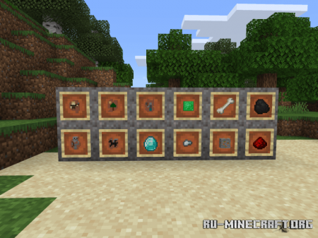 Скачать Brushes and Archaeology для Minecraft PE 1.16