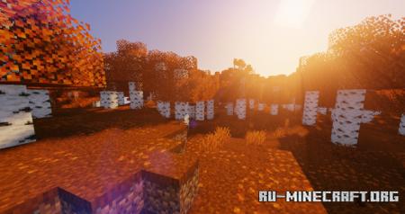 Скачать Autumn Birch для Minecraft 1.16