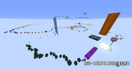 Скачать A Long Day Jumping 3 для Minecraft