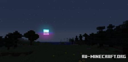 Скачать Retrowave Sun and Moon для Minecraft 1.16