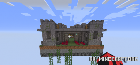 Скачать Small Castle (One Chunk Challenge) для Minecraft