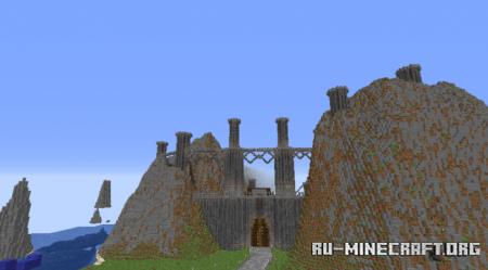 Скачать Island Fort by Creed4Cz для Minecraft