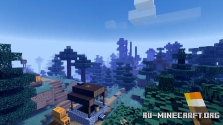 Скачать Asriel's Atmospheric Shaders для Minecraft PE 1.16