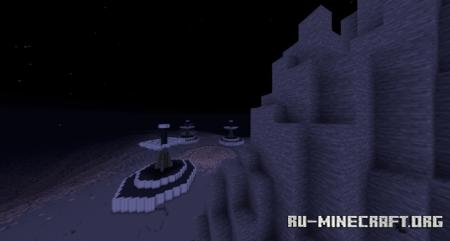Скачать The Moon by Makuta00 для Minecraft
