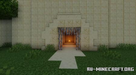 Скачать PvP an PvE map by LeoMacK для Minecraft