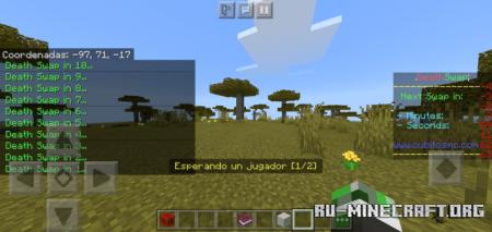 Скачать Death Swap (Map/Minigame/PvP) для Minecraft PE