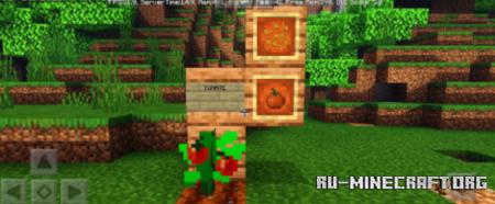 Скачать Crops and Trees для Minecraft PE 1.16