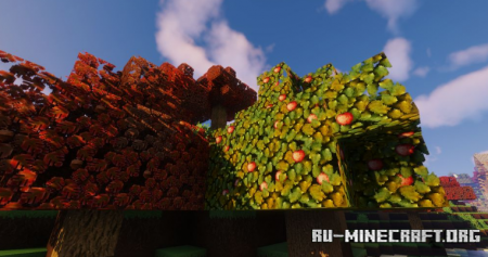 Скачать Autumn Wonder для Minecraft 1.16