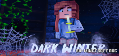 Скачать Dark Winter – Horror Map для Minecraft PE
