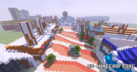 Скачать Disneyland Paris Resort для Minecraft PE