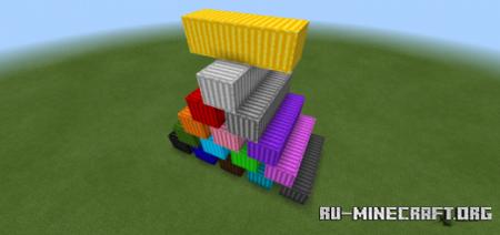 Скачать Cargo Blocks для Minecraft PE 1.16