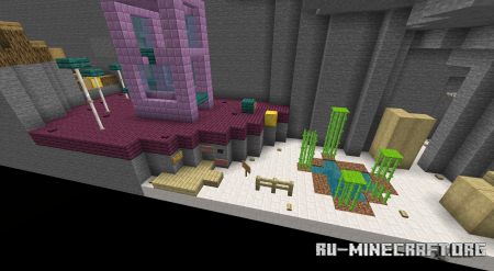 Скачать Parkour Jungle Island для Minecraft