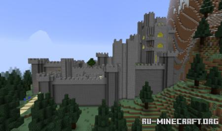 Скачать Kaer Morhen (The Witcher) by okrzysztof для Minecraft
