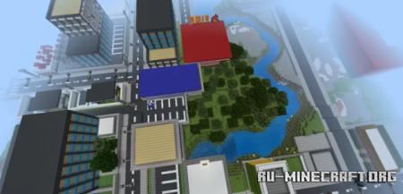 Скачать Marvis City для Minecraft