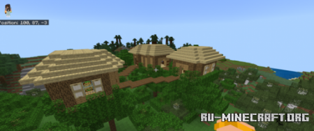 Скачать Three Connected Treehouses для Minecraft PE