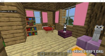 Скачать Three Connected Treehouses для Minecraft PE