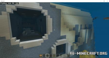 Скачать Underwater Home by xLeonardoArt для Minecraft PE