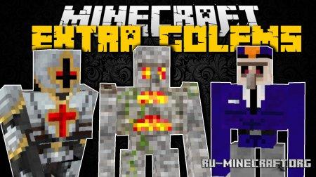 Скачать Extra Golems для Minecraft 1.16.3