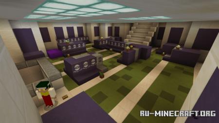 Скачать Lavender Town для Minecraft PE