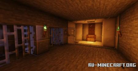 Скачать One Chunk Castle Keep by Thedestructbite для Minecraft