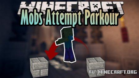 Скачать Mobs Attempt Parkour для Minecraft 1.16.3