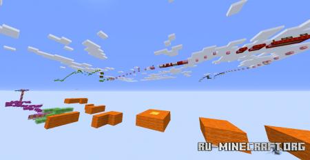 Скачать Wool Parkour для Minecraft