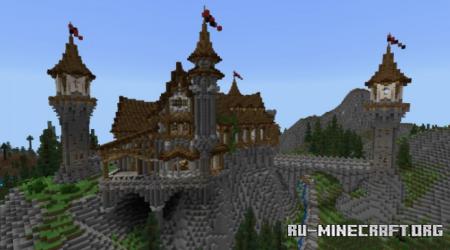 Скачать Stonehill Castle для Minecraft