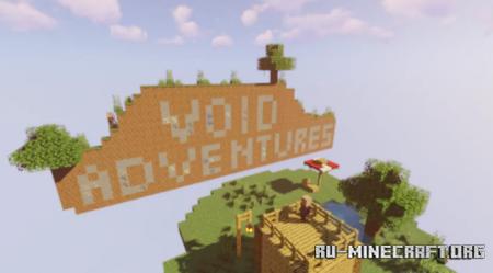 Скачать The Void Adventures by AerolCyrus12 для Minecraft