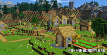 Скачать Upgraded Village для Minecraft PE