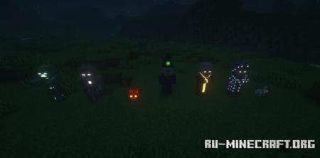 Скачать Default Emissive для Minecraft 1.16