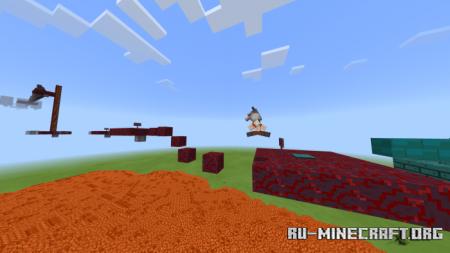 Скачать Nachan Parkour World для Minecraft PE