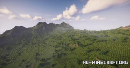 Скачать Herja - Ancient Mountain Canyon Valley для Minecraft