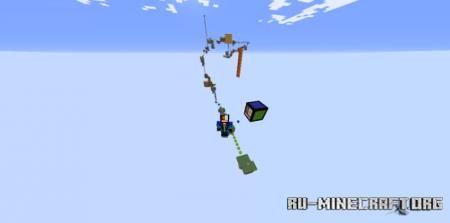 Скачать Parkour 30 level by ZFK0507 для Minecraft