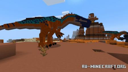 Скачать Prehistoric Evolved для Minecraft PE 1.16