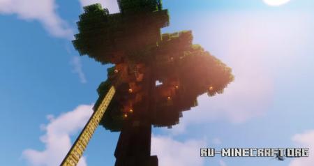 Скачать Tree House Base by HaileyP123 для Minecraft