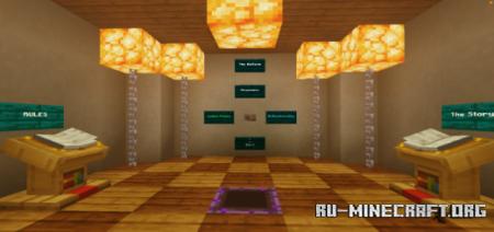 Скачать The Hallway для Minecraft PE