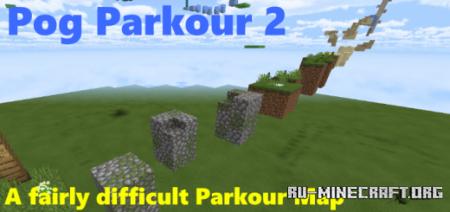 Скачать Pog Parkour 2 для Minecraft PE