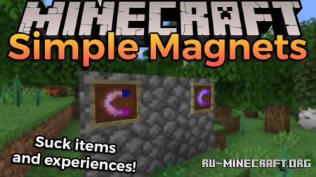 Скачать Simple Magnets для Minecraft 1.16.4