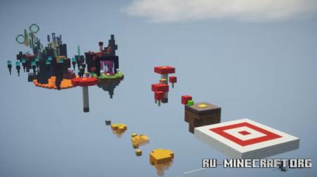 Скачать Duo Parkour by TheGabricraft для Minecraft